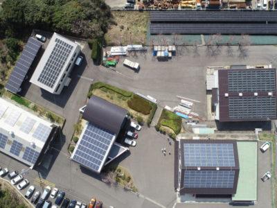 太陽光発電 完成写真