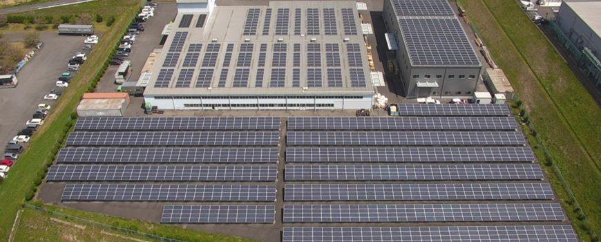 太陽光発電所 赤外線点検